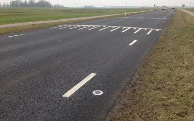 Verlichting van verkeersdrempel