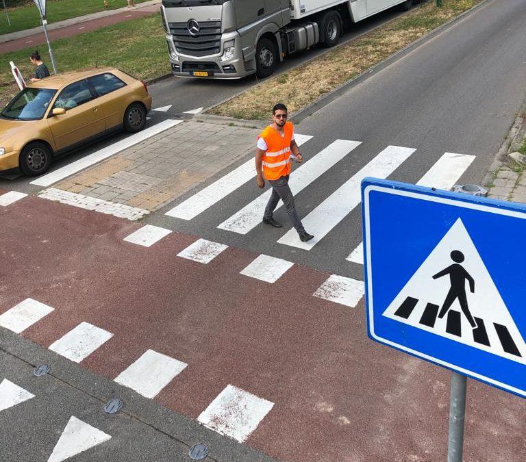Oplossingen voor het verbeteren van de veiligheid van voetgangers