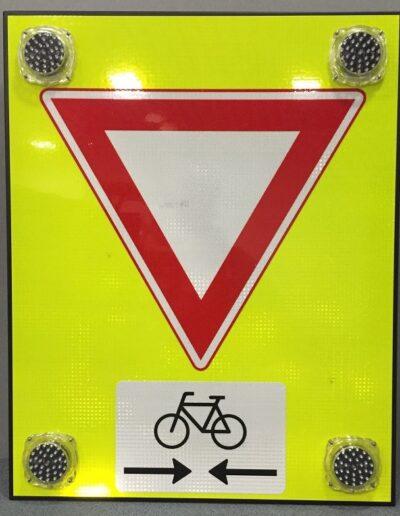 led waarschuwingsbord