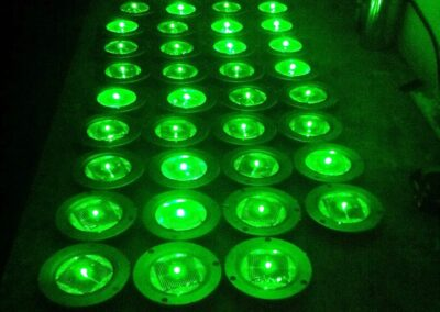 actieve markering LED-signalering wegdek-markering+ verlichting solar wegmarkering LED verlichting wegdek grondspot solar road studs